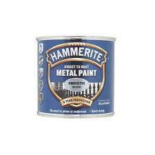 Hammerite Metal Paint 250ml Smooth Silver