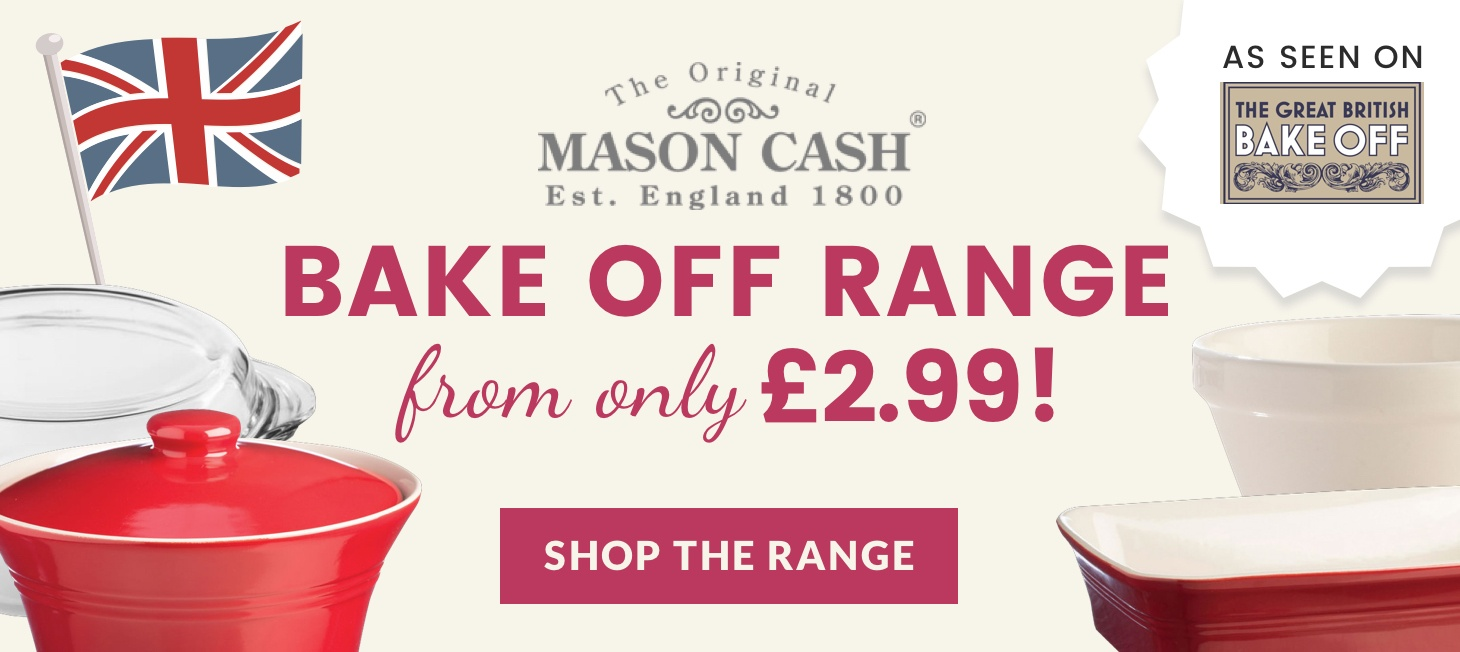 Bake Off Range from only £2.99