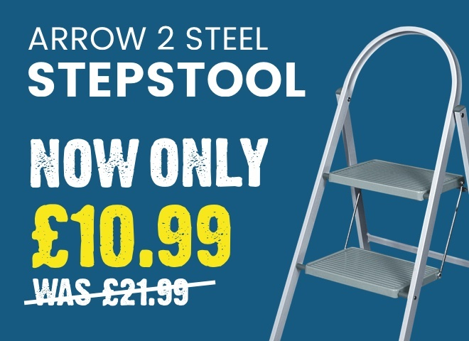 Arrow 2 Steel Stepstool