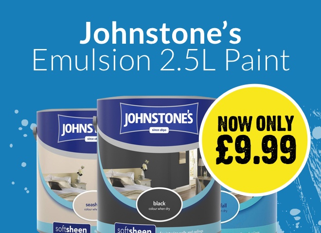 Johnstone's Emulsion 2.5L Paint