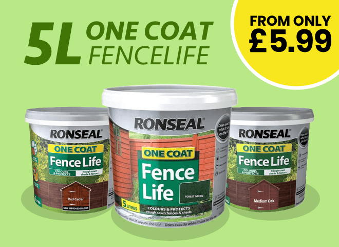 5L One Coat Fence Life