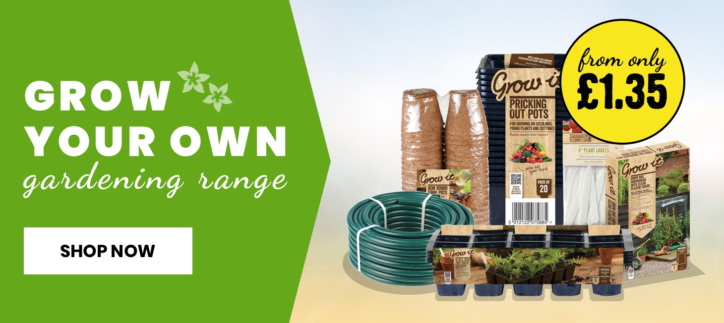 Grow your own products