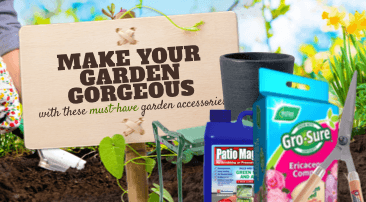 Make your garden gorgeous with these must-have garden accessories