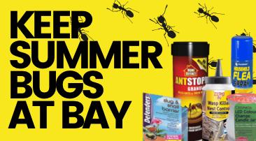 Keep summer bugs at bay!