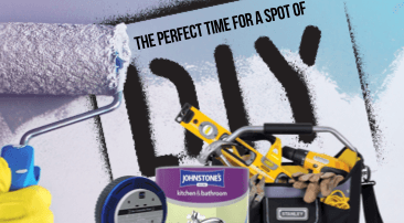 The perfect time for a spot of DIY?