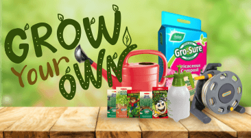 Grow your own with a little help from us..!