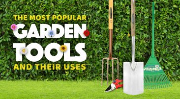 4 of the most popular garden tools and their uses