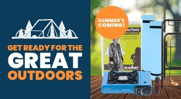Summer's coming – get ready for the great outdoors