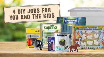 4 DIY jobs for you and the kids this summer...