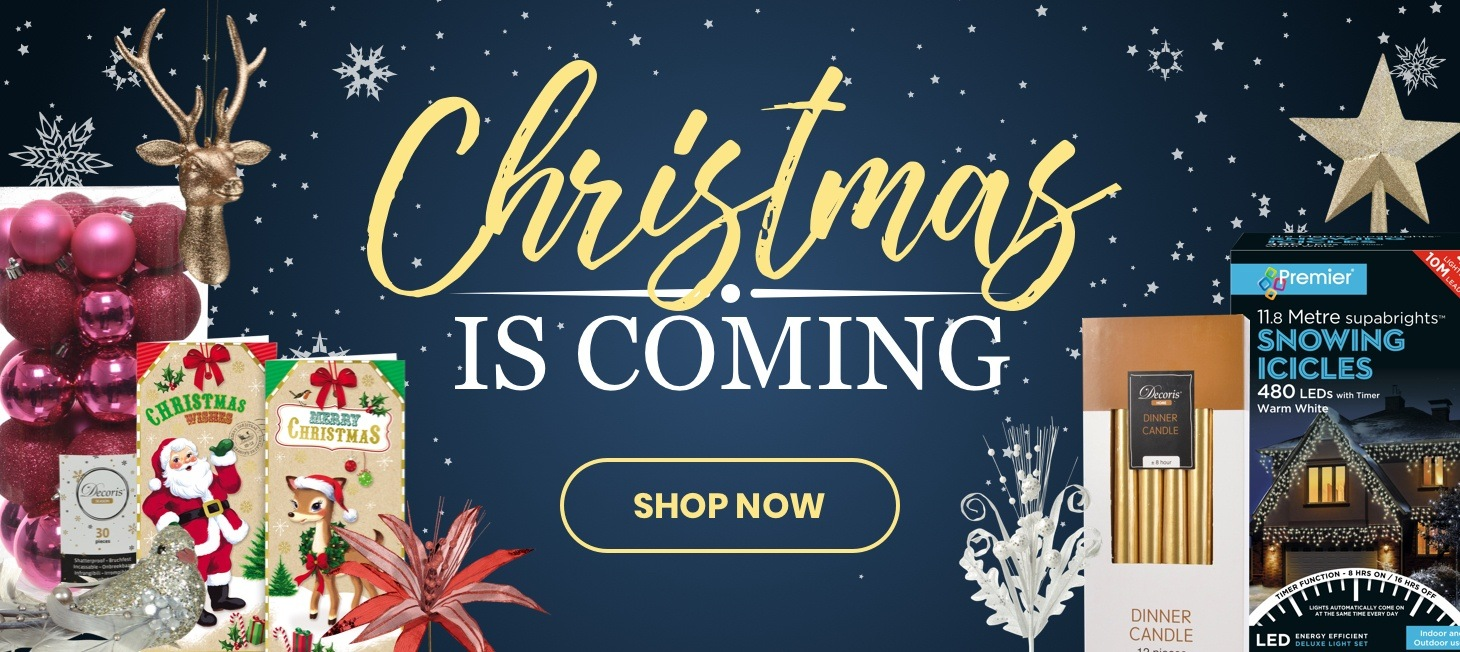 Christmas is coming! Shop now